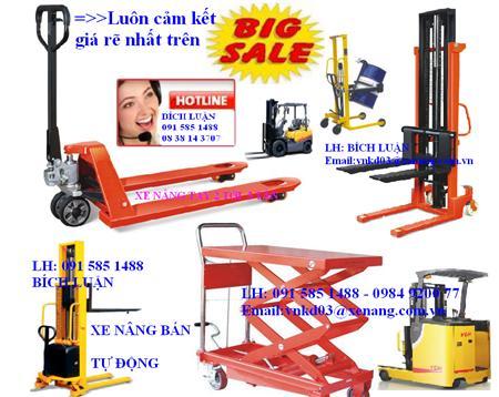 XE NÂNG TAY CAO 3m, xe nâng cao 3m, xe nâng cao giá rẽ