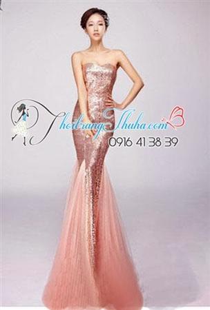 Chuyên Đầm dạ hội, Đầm kim Sa chất lượng cao cấp