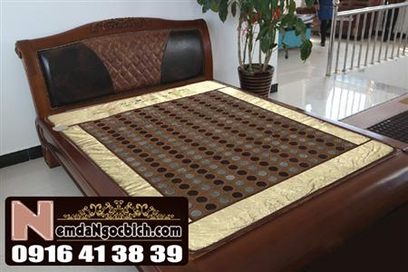 Nệm đá ngọc bích giường nằm 150cm x 190cm cao cấp mã 05