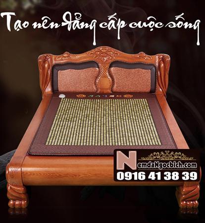 Nệm đá ngọc bích loại giường nằm 150cm x 200cm mã 01