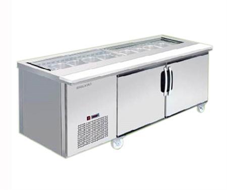 Bàn lạnh salad Berjaya BS2D/SSC6/C
