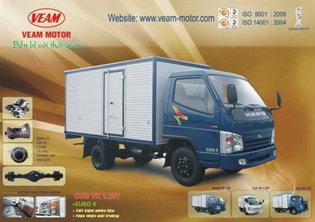 Xe veam, xe tải veam, xe tải veam VT250 , VT200