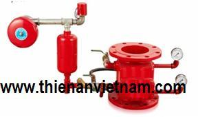 van báo động SJV,alarm valve, van chống tràn, deluge valve