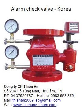 van báo động SJV(alarm valve), búa nước, đầu phun sprinkler