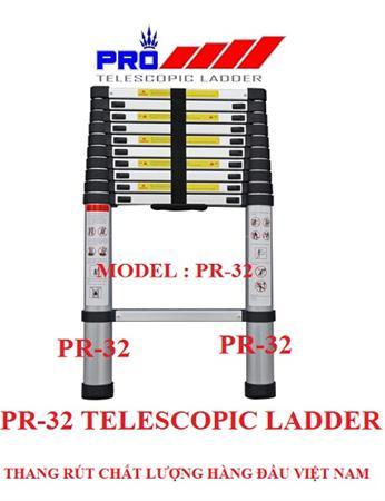 Thang nhôm rút đa năng Pro PR-32