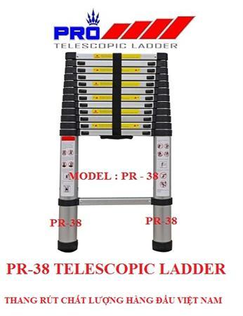 Thang nhôm rút gọn đa nang Pr0 PR-38 AL