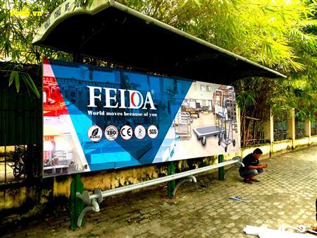 Thông tin sản phẩm Xe đẩy hàng Feida chính hãng
