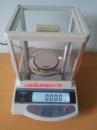 Cân điện tử phân tích Shinko GS 323N ( 320g/0.001g)
