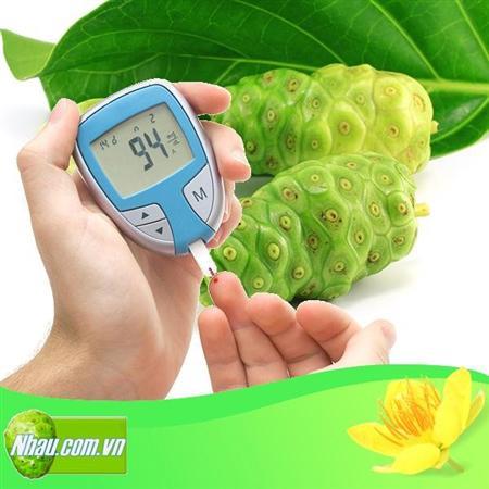 Tiểu Đường, Bài thuốc từ Trái Nhàu cho bệnh tiểu đường