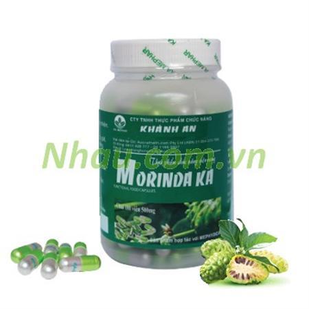Noni capsules hỗ trợ trị đau lưng, nhức mỏi xương khớp, gout