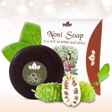 Noni soap - xà bông nhàu | sạch da, giảm đau khớp