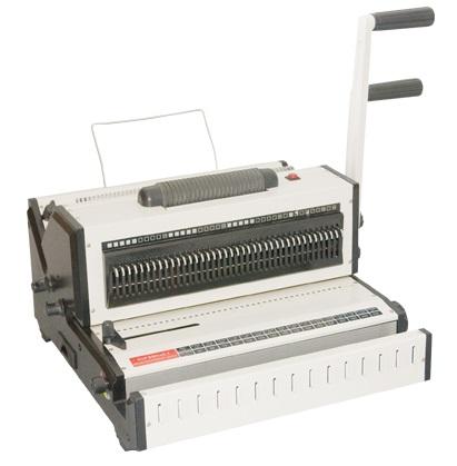 Máy đóng sách gáy xoắn đa năng (dùng lò xo kẽm + lò xo nhựa)