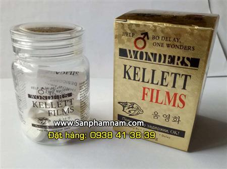 Thuốc cường dương 100% thiên nhiên Kellett Films 8000mg