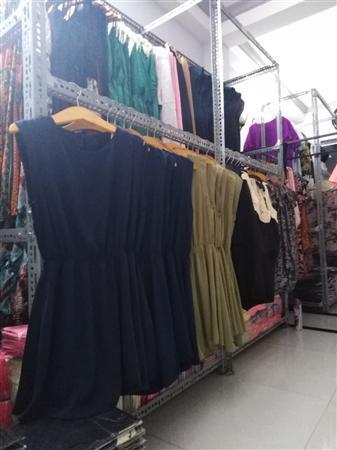 Cung cấp đầm xuất khẩu thời trang áo đầm đắp tà cực chất