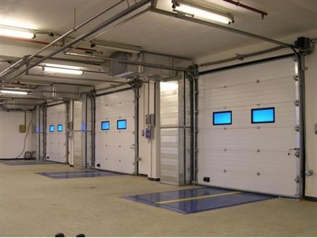 Cửa cuốn cách nhiệt - Cửa trượt trần - cửa cách nhiệt panel