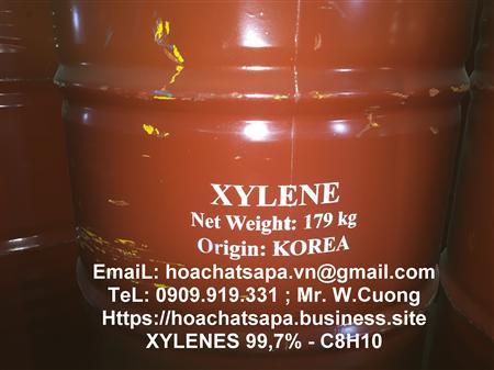 Bán xylen, xylenes, XYLENE - C8H10, mix xylen