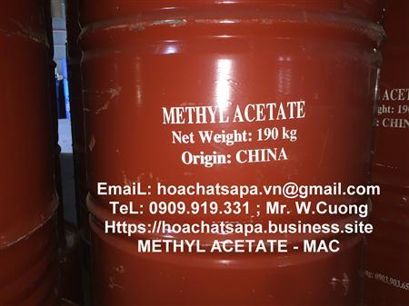 Bán methyl acetate, MAC