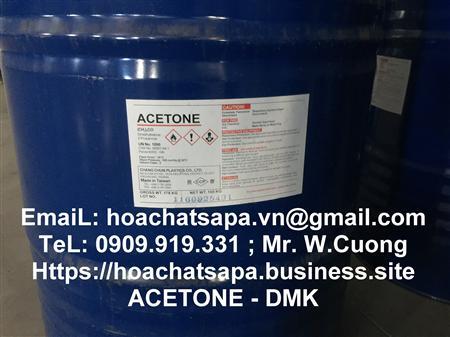 Bán acetone, dung moi Axeton ; Dimethyl Ketone ; DMK solvent