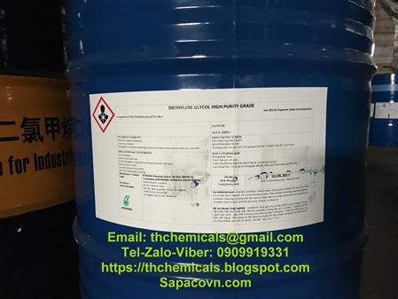 Bán diethylene glycol, DEG,dầu thuỷ lực, Chất trợ nghiền Ca