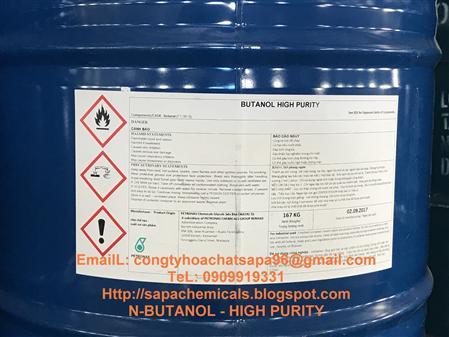 Bán n-butanol,NBUTANOL, dung moi muc in, son, butanol