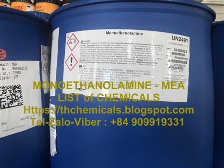 Bán MEA, MONOETHANOL AMINE, ethanolamin