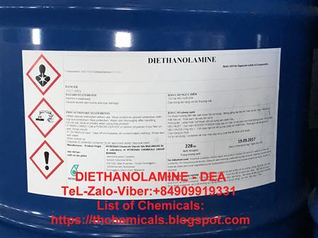 Bán diethanolamine, DIETHANOLAMINE, DEA, Petronas-malaysia