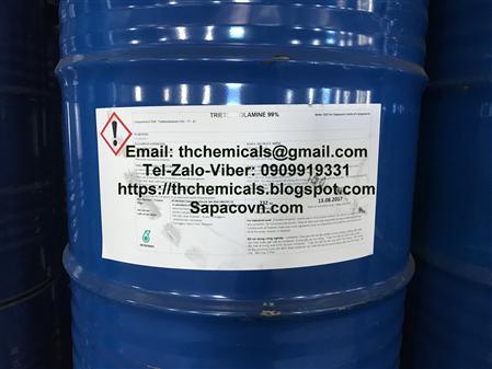 Bán triethanolamine,Triethanolamine 99%,TEA 99%, trợ nghiền
