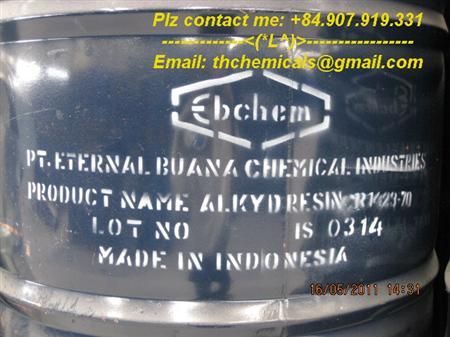 Alkyd short oil,  alkyd 1423 -70, nhựa sơn lót, mua, bán, sỉ
