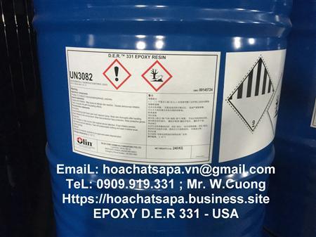 Bán Epoxy DER 331, epoxy DER 669E, DER 671 X75, solid, keo