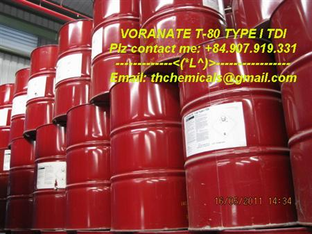 toluene diisocyanate | VORANATE T80 | TDI | sapachemicals