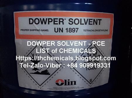 DOWPER SOLVENT| perchloroethylene|tetrachloroethylene|USA