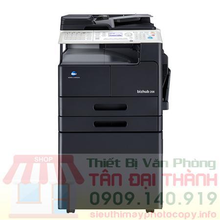 Máy Photocopy Konica Minolta Bizhub 206 – Cty Tân Đại Thành