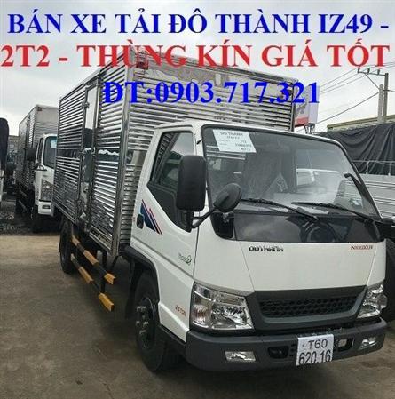 Bán xe tải IZ49 máy Isuzu tiêu chuẩn Euro 4 mới 2018 giá rẻ