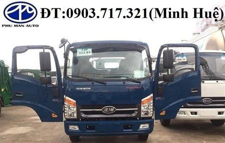 Xe tải Veam VT260. Bán xe tải Veam 1t9 máy Isuzu thùng 6m2