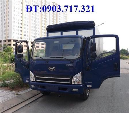 Xe ben Dongfeng 8T75 (8.75 tấn) thùng 7 khối  ga cơ giá tốt