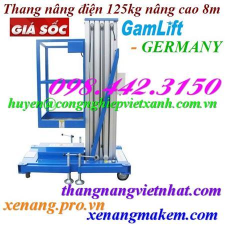 Xe nâng tay 2.5 tấn M25D GAMLIFT