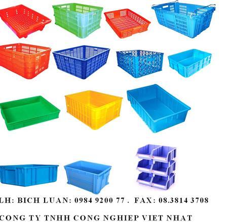 Thùng nhựa,khay rổ nhựa, sóng nhựa, hộp nhựa –LH 0984 920077