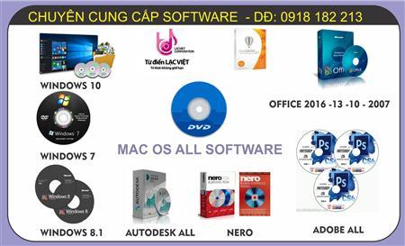 Quận 7 - đĩa cài đặt Phần mềm Windows