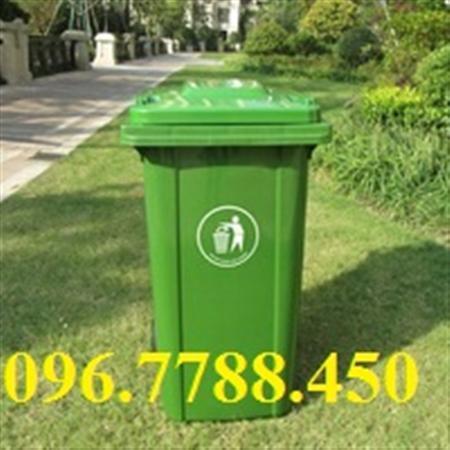 Thùng rác đô thị 120 Lít giá rẻ Lhe 0967788450 Ms Ngọc
