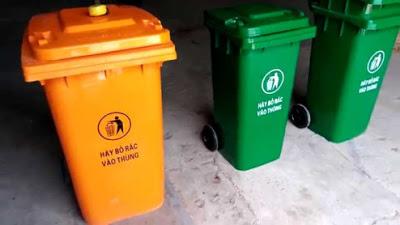 Bán thùng đựng rác 240 lít giá rẻ 0967788450 Ngọc