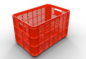 Rổ nhựa lớn có bánh xe đựng hàng may mặc Lhe 0967788450 Ngọc