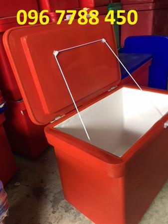 Bán thùng đá lạnh ướp hải sản tươi sống Lhe 0967788450 Ngọc