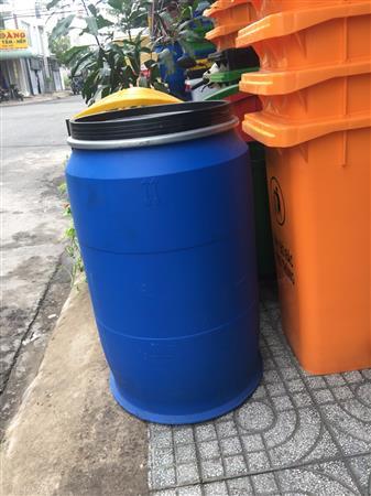 Bán phuy nhựa 220 lít chứa nước sinh hoạt Lhe 0967788450