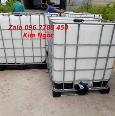 Tank nhựa 1000 lít đựng chất lỏng, hóa chất giá rẻ