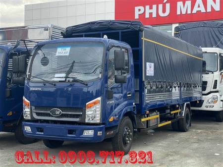 Xe tải Faw 7.25 tấn  - 7T25 Euro 5 thùng dài 9.76m đời 2019