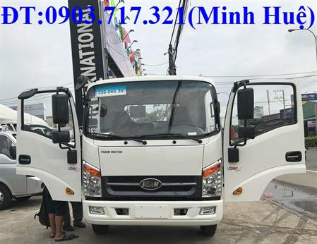 Xe tải Veam 1t9 (VT260-1) thùng dài, 1t9 thùng siêu dài 6m2