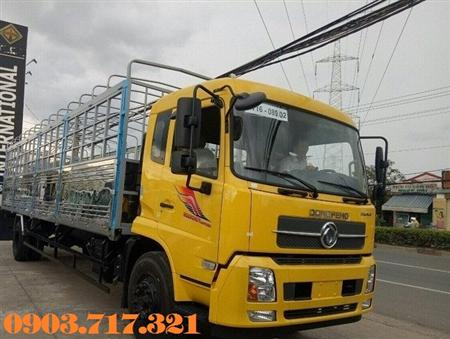Bán xe tải DongFeng B180. Xe tải Dongfeng 8T thùng dài 9m5