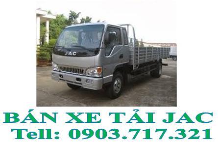Xe tải Jac 1t49 – 1,49 tấn – 1.49 tấn thùng mui kín giá rẻ