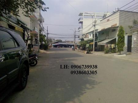 Kẹt tiền bán nhanh- Nhà MT đường 58 KDC Bình Phú 4 x 26, 1L,