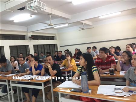 Khai giảng khóa học nghiệp vụ sự phạm tại Tp HCM